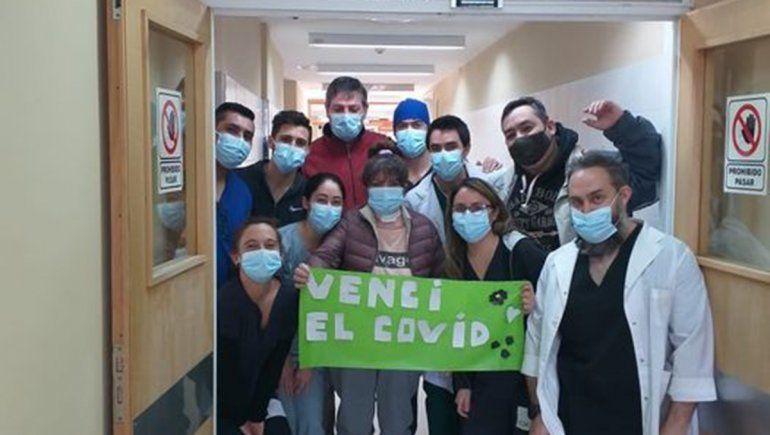 Luchó más de 50 días contra el COVID y su recuperación conmovió a Villa La Angostura