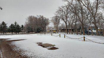 La nieve llegó a Neuquén: las postales en Zapala y Las Coloradas
