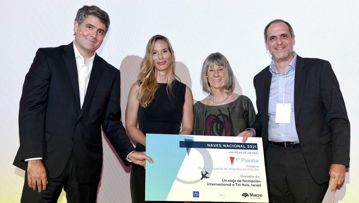 con participacion neuquina, naves premio a proyectos con viajes a tel aviv