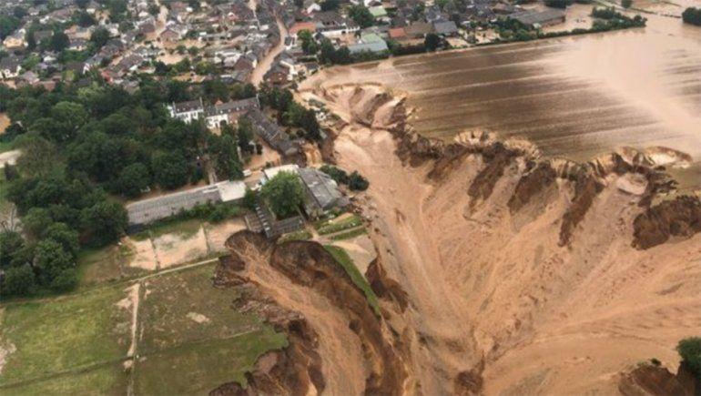 Inundaciones en Europa: Al menos 120 muertos y cientos de desaparecidos