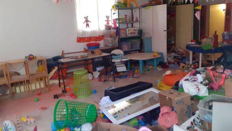 Destrozaron y desvalijaron a la casita de Barriletes en Bandada