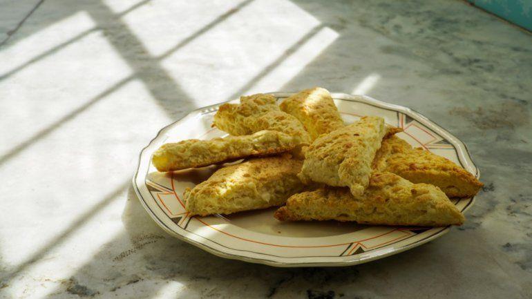 Receta simple: scones de queso