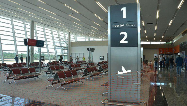 Así luce la sala de embarque del Aeropuerto que se inaugura hoy