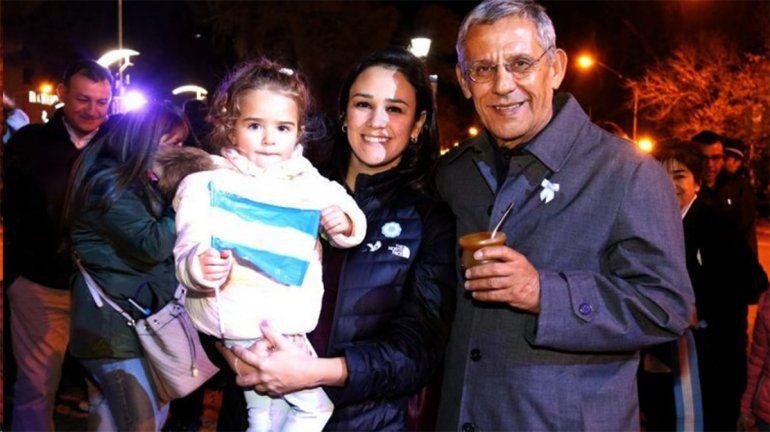 Ayelén Quiroga, hija de Pechi y candidata a diputada nacional por Cambia Neuquén. Foto.