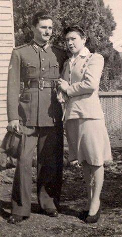 Ernesto y esposa.