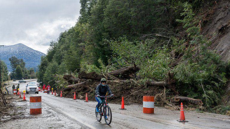 Villa La Angostura: la Ruta 40 habilitada con extrema precaución