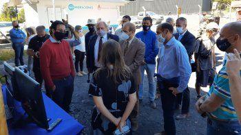 Volcán Lanín: se inició el monitoreo en tiempo real