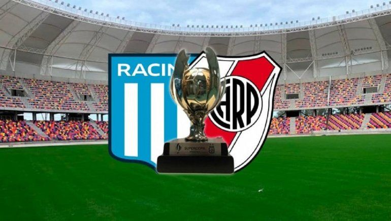 River y Racing jugarán la final de Supercopa Argentina del año 2019.