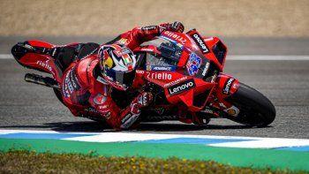Jack Miller tuvo su primera alegría grande con Ducati en el MotoGP