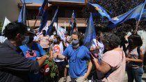 el plenario de aten ratifico el paro, con marcha y banderazos