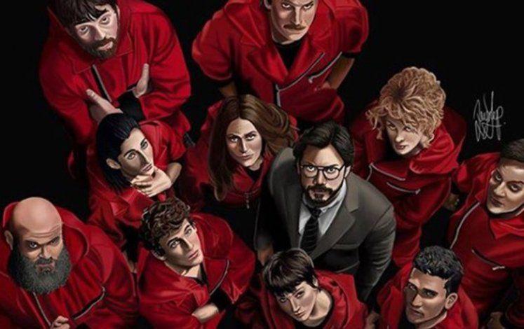 La última temporada de La Casa de Papel será estrenada por Netflix en 2021 | Foto: @lacasadepapel