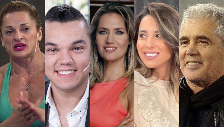 Dos mediáticos, dos deportistas y una periodista, las sorpresas de las PASO