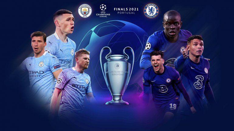 City-Chelsea, la gran final inglesa de la Champions: formaciones, hora y TV