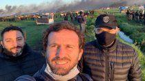 guernica: para el fiscal no hubo represion y hablo de su selfie