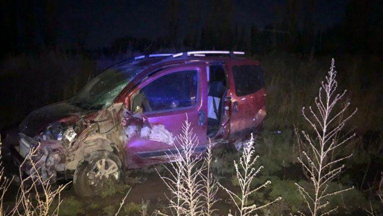 Un motociclista murió en un brutal accidente sobre ruta chica