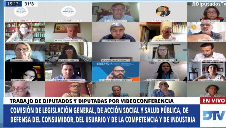 Diputados: reunión conjunta de comisiones sobre la Alimentación Saludable