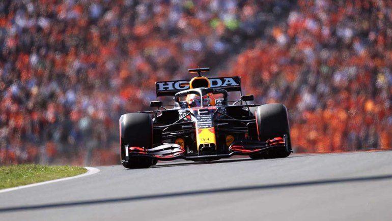 Verstappen dominó la clasificación de la Fórmula 1 en Holanda