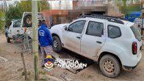 atrapan a ladron de vehiculos y recuperan una camioneta