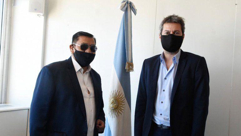 Rioseco encabezó reuniones con funcionarios nacionales