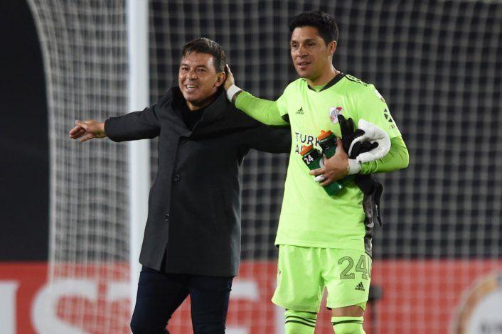 Gallardo: Etoo lo quiere en el Barsa y Enzo Pérez reveló qué le dijo cuando atajó