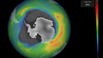 el agujero de la capa de ozono ya es mas grande que antartida