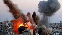 israel golpeo con artilleria pesada a gaza
