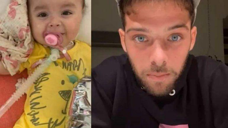 La increíble campaña de Santi Maratea para salvar a una beba enferma