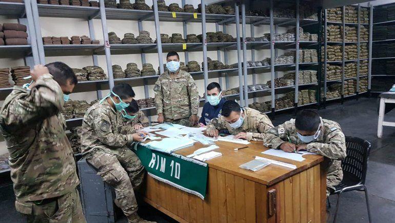 El Ejército y un balance de lo que hizo en la pandemia