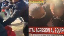 brutal ataque a un movil de cronica mientras cubria el caso guadalupe