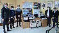 covid-19: la municipalidad de cutral co dono insumos a su hospital