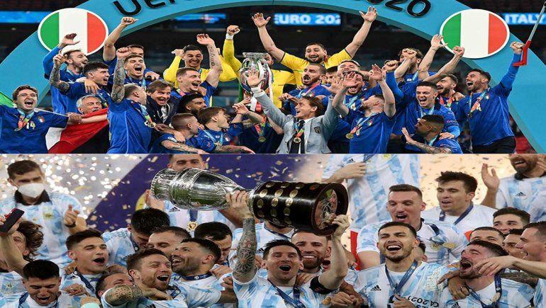 Duelo de campeones: Argentina se medirá a Italia en 2022