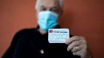 chile: una dosis de la vacuna china solo da un 3% de inmunidad