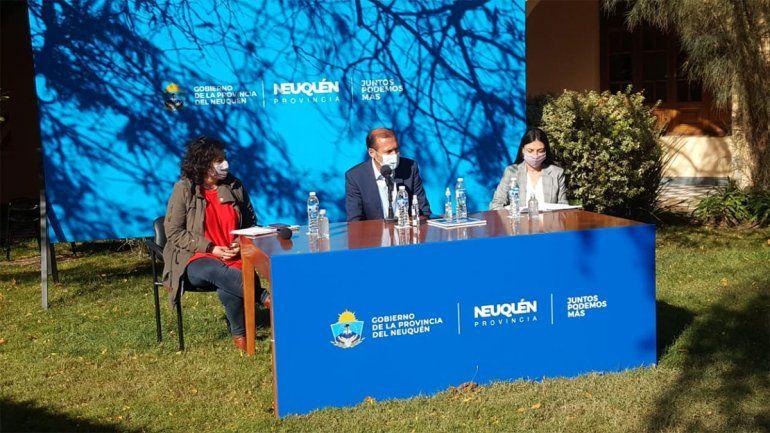 Gutiérrez anunció el pase a planta de 508 eventuales de Salud