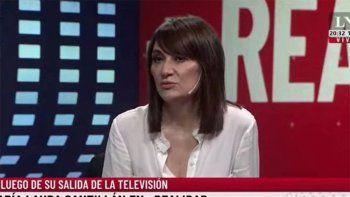 María Laura Santillán reapareció y contó que la echaron por vieja