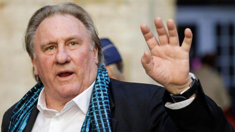 Gérard Depardieu, investigado por la violación de una joven