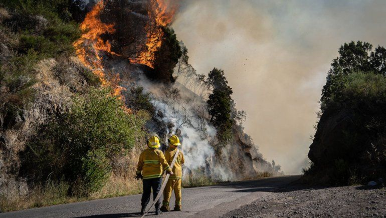Controlaron el incendio que puso en alerta a San Martín