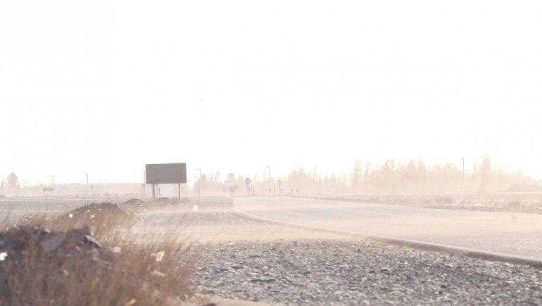 Alerta por vientos y lluvia en la cordillera y el norte neuquino