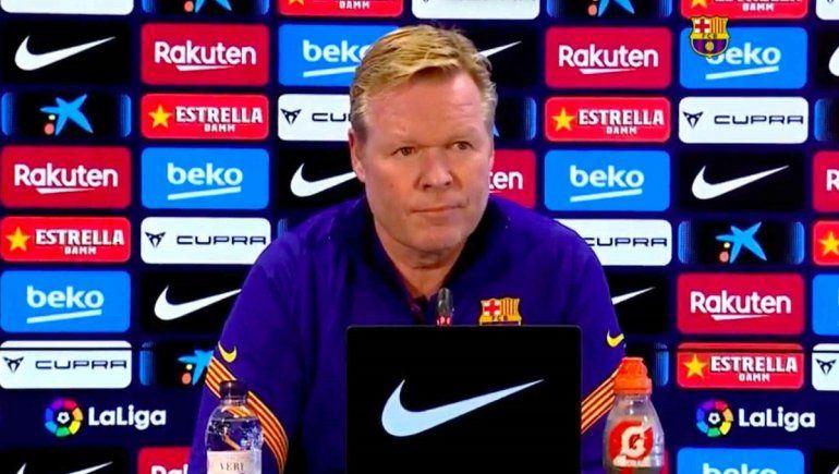 Entrenador del Barcelona habló de la victoria ante la Juve