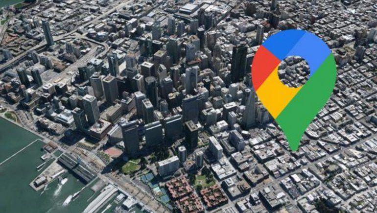 Opción oculta de Google Maps muestra distancia real entre dos países.