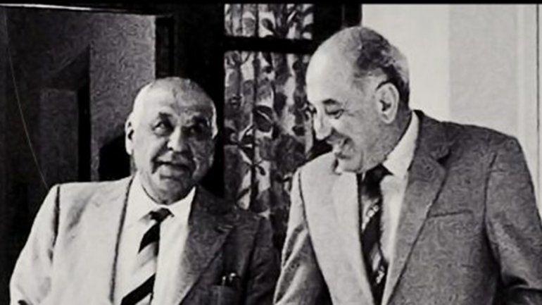 Elías y Felipe Sapag.