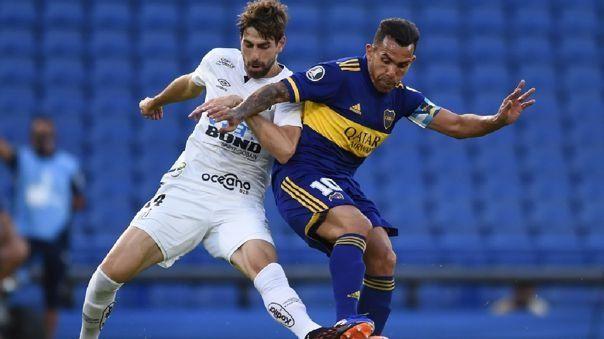 Si Santos elimina a San Lorenzo en la fase previa, volverá a cruzarse con Boca ahora en instancia inicial.