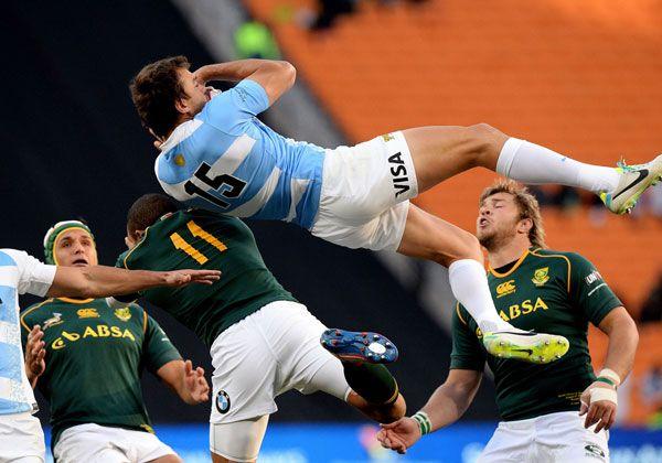 Los Pumas y una caída lapidaria ante Sudáfrica