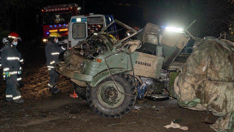 Uno de los soldados accidentados sigue grave y será trasladado a la capital