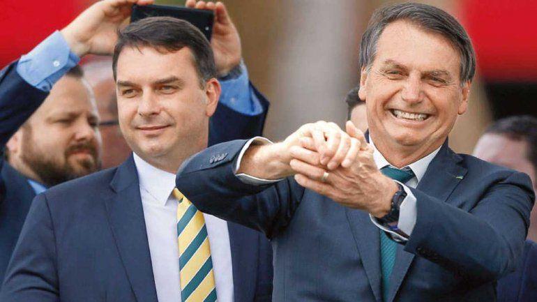 Escándalo en Brasil: el mensaje patético de Bolsonaro junior