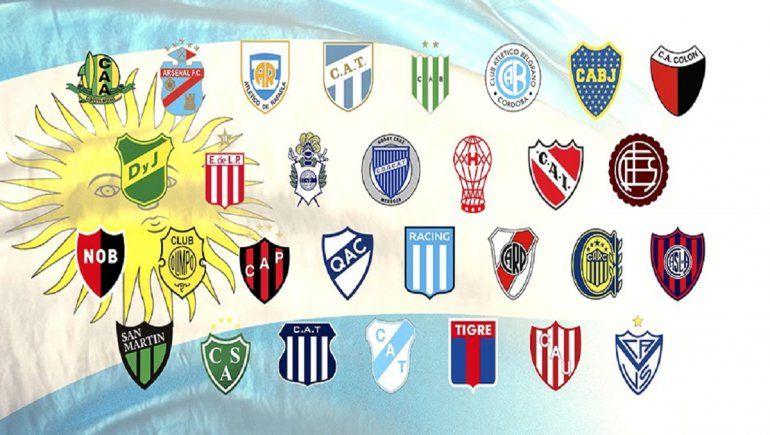 Equipos argentinos clasificados a la Copa Sudamericana y Libertadores 2021.