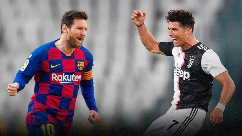 Entre Messi y Cristiano Ronaldo suman 69 títulos
