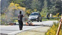 villa mascardi no tiene paz: encapuchados apedrearon a un vecino
