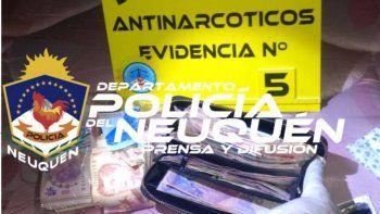 mega operativo: desbarataron un kiosco narco en cutral co