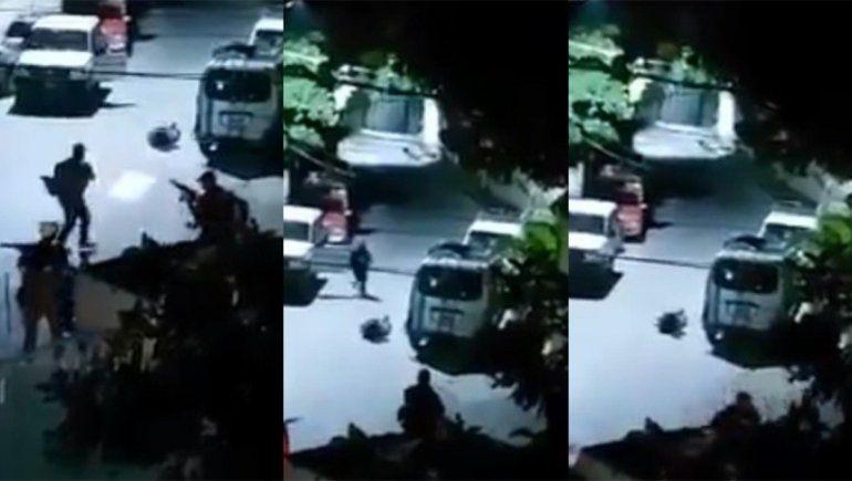 El video que muestra el momento del crimen del presidente de Haití