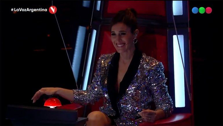 Soledad Pastorutti no se pudo resistir ante la interpretación de Francisco Benítez en La Voz Argentina.